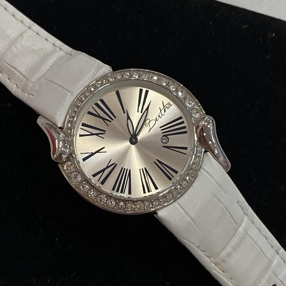 Bertha White Watch